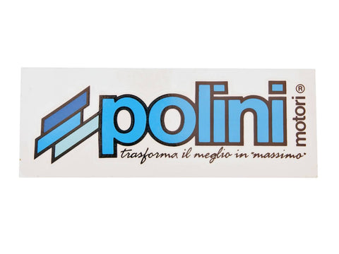 sticker Polini logo 160x60mm