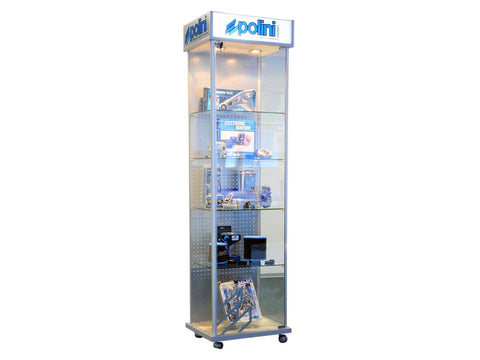 showcase Polini for salesroom / POS