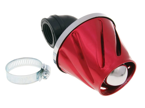 air filter Helix power 28-35mm carburetor connection (adapter) red