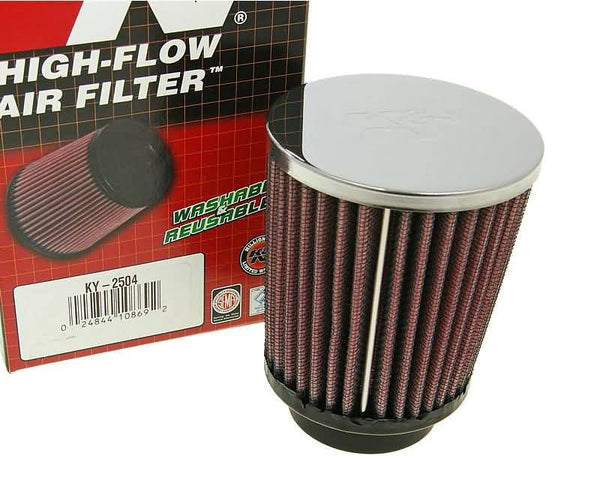 air filter K&N high flow racing