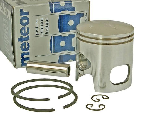 piston Meteor for Malossi sport 70cc 12mm piston pin (kit includes 2 rings and 2 clips)