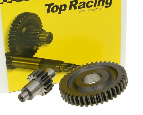 secondary transmission gear set Top Racing 14/41 ratio for Minarelli
