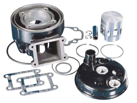 cylinder kit Polini cast iron sport 70cc 47mm for Benelli Devil, Spring, Malaguti MRX Minarelli DL3 50