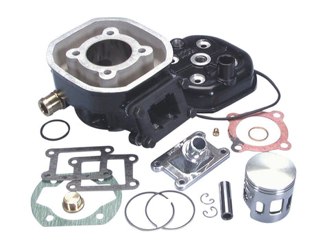 cylinder kit Polini aluminum sport 70cc 47mm for Malaguti Dune 50, Minarelli MR4