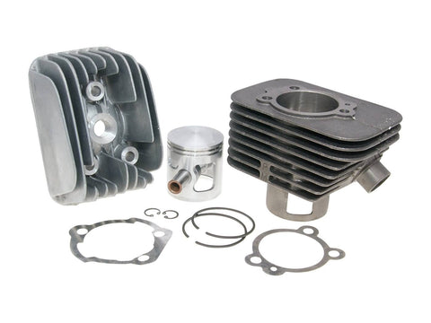 cylinder kit Polini cast iron sport 70cc 12mm piston pin for Piaggio Ciao