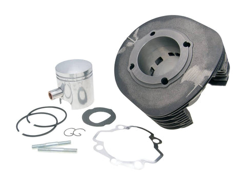 cylinder kit Polini cast iron sport 225cc 18mm piston pin for Ape P501, P601, Vespa Car