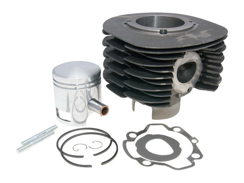 cylinder kit Polini cast iron sport 225cc 16mm piston pin for Ape P501, P601, Vespa Car