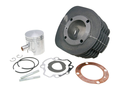 cylinder kit Polini cast iron sport 225cc 18mm piston pin for Ape TM 703, P 602