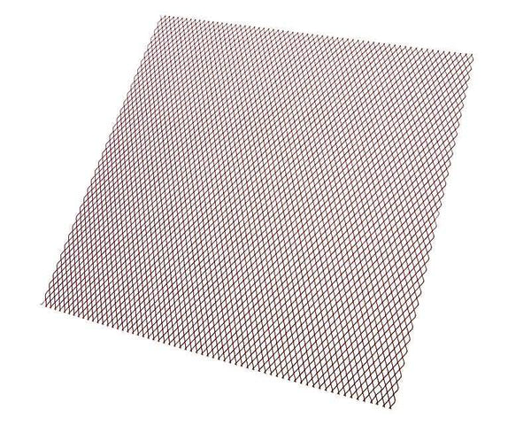 racing grill mesh 30cm x 30cm fine red