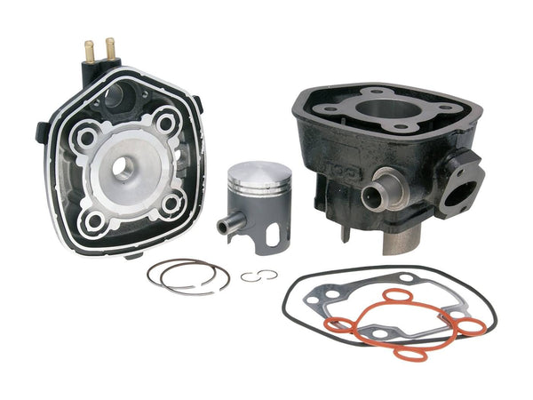 cylinder kit Top Performances Black Trophy 50cc for Minarelli horizontal LC