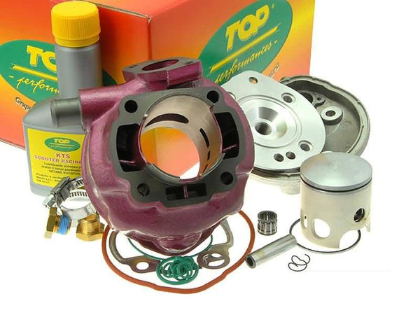cylinder kit Top Performances Due Plus Modular 70cc for Minarelli LC