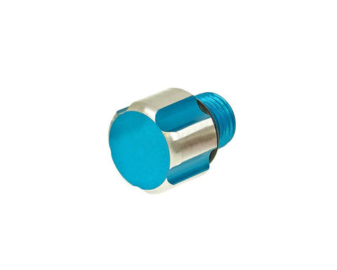 oil filler screw / oil screw plug TNT blue for Minarelli AM