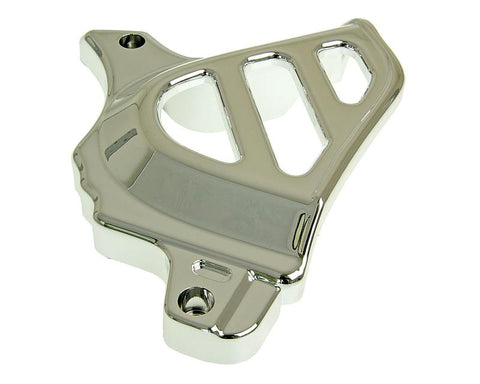 front sprocket cover chrome for Minarelli AM, Generic, KSR-Moto, Keeway, Motobi, Ride, 1E40MA, 1E40MB