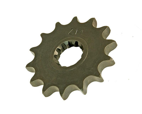 sprocket Top Performances 14 tooth 428 for Minarelli AM
