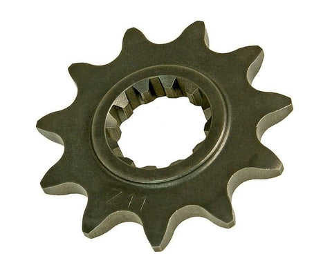 front sprocket 11 tooth 415 for Minarelli AM (95-05) 17mm pinion shaft