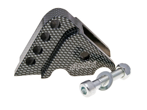 riser kit Polini CNC 4-hole Carbon Look for Minarelli horizontal