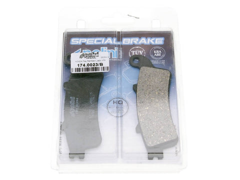 brake pads Polini organic for Honda Pantheon, Foresight, Forza, Jazz