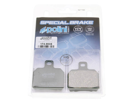 brake pads Polini organic for Aprilia RS, CPI GTR, Peugeot Speedfight 3