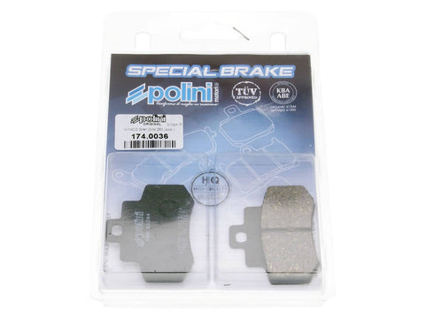 brake pads Polini organic for Kymco Grand Dink 250