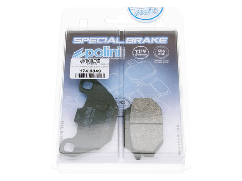 brake pads Polini organic for Kymco, Agility, People S, Super 8