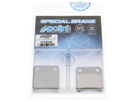 brake pads Polini organic for Honda Dio, Daelim Message, Cordi, Five