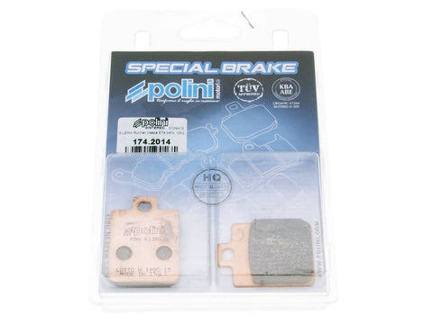 brake pads Polini sintered for Gilera Piaggio Vespa