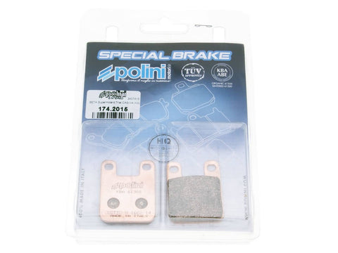 brake pads Polini sintered for Derbi Gilera Italjet Peugeot