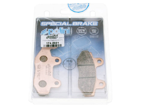 brake pads Polini sintered for Hyosung, Kymco, Rex
