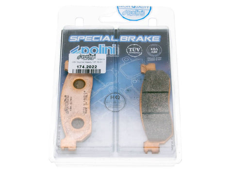 brake pads Polini sintered for MBK CityLine, Skyliner, Yamaha Majesty