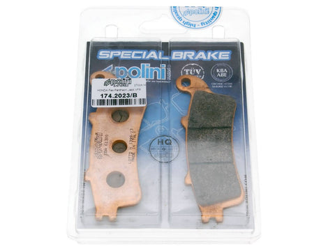 brake pads Polini sintered for Honda Pantheon, Foresight, Forza, Jazz