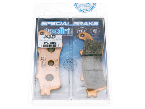 brake pads Polini sintered for Honda Pantheon, Foresight, Silver Wing