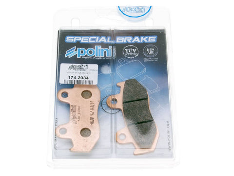 brake pads Polini sintered for Honda NES SES PES / PS SH CH 125/150 4T