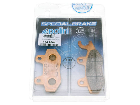 brake pads Polini sintered for Kymco, Yamaha, Hyosung