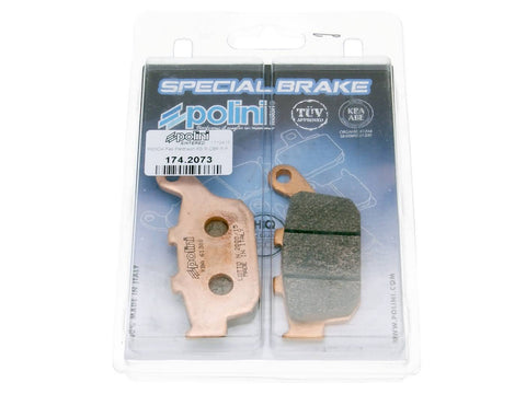 brake pads Polini sintered for Honda Foresight, Pantheon