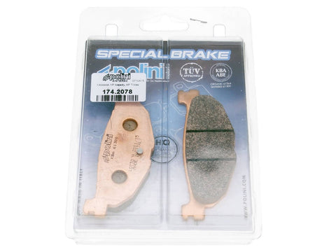 brake pads Polini sintered for Yamaha Majesty 400, T-Max 500