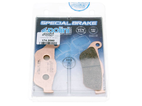 brake pads Polini sintered for Yamaha X-Max, MBK Skycruiser