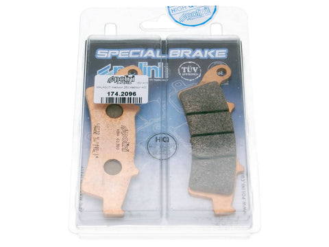 brake pads Polini sintered for Aprilia Atlantic, Kymco People GT