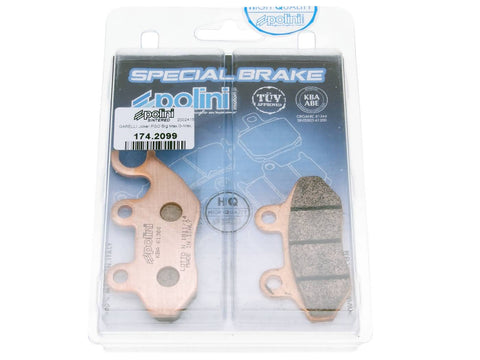 brake pads Polini sintered for PGO SYM TGB