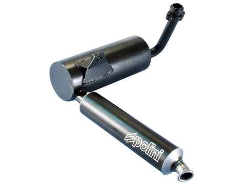 exhaust Polini for LML Star Deluxe 125, 150 4T with carburetor