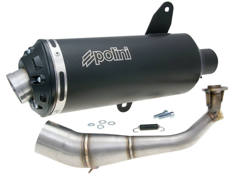 exhaust Polini for SYM GTS 125 Joymax 06-12