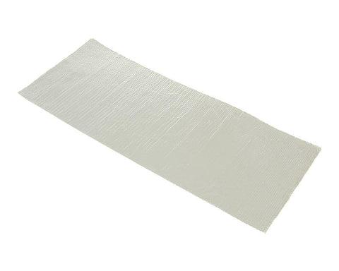 adhesive aluminized fiberglass cloth heat barrier / protection tape 1.60x195x475mm