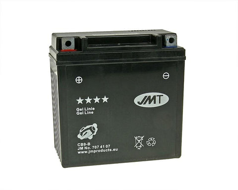 battery JMT Gel Line JMB9-B / 12N9-4B1 / 12N9-BS