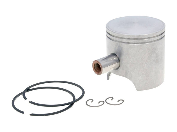 piston kit Polini 70cc 47.4mm for Piaggio AC, LC, Purejet, Kymco, Honda, SYM, Peugeot vertical