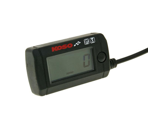 operating hour and revolution meter Koso Mini LCD