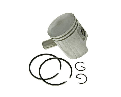 piston set 50cc incl. rings, clips and pin for Peugeot