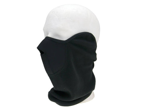 wind tube / neck warmer with face mask to protect face, nape and neck one size