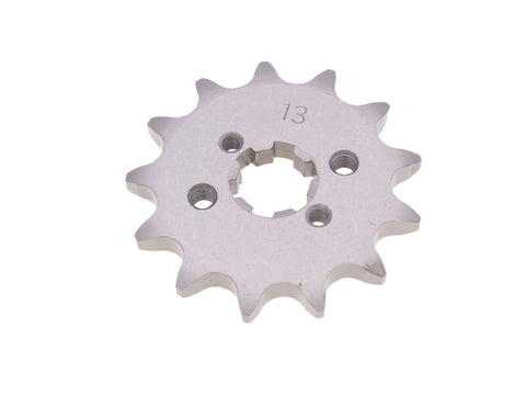 front sprocket 420 - 13 teeth for Derbi Senda GPR, Aprilia RS RX SX, Gilera RCR, SMT (D50B0)