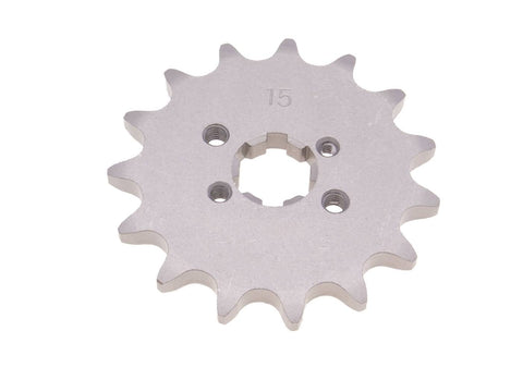 front sprocket 420 - 15 teeth for Derbi Senda GPR, Aprilia RS RX SX, Gilera RCR, SMT (D50B0)