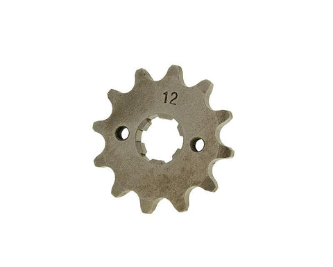 front sprocket 420 - 12 teeth for Derbi EBE, EBS