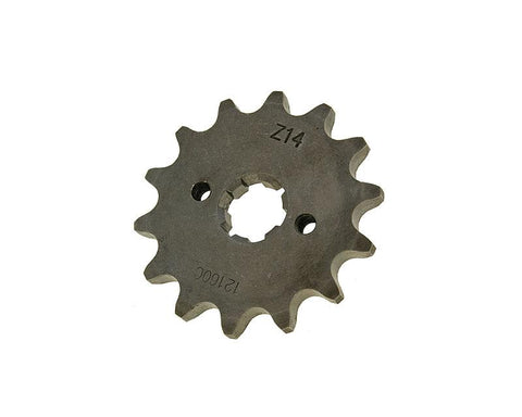 front sprocket 420 - 14 teeth for Derbi EBE, EBS